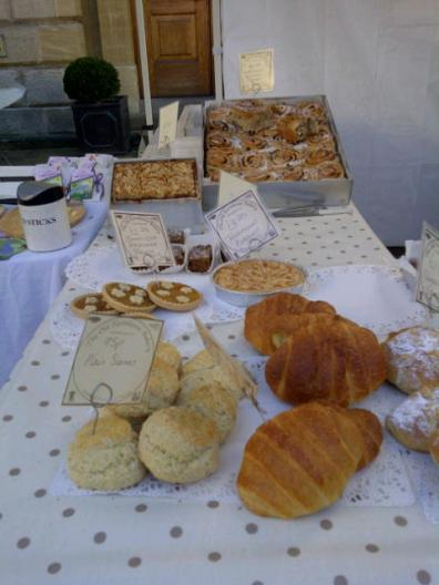 Goodies from The Old Farmhouse Bakery