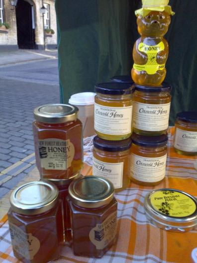 Cotswold honey and beeswax